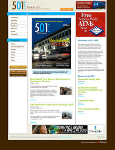 501 LIFE Magazine Web Site Home Page.