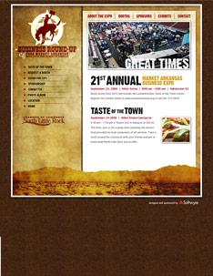 Market Arkansas Web Site Home Page